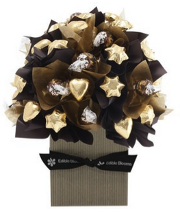 edible blooms chocolate