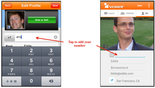 how to add friends on voxer