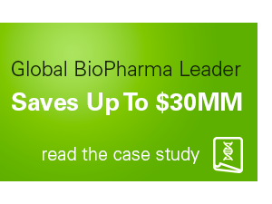 Global bioPharma Leader Saves Up to $30MM