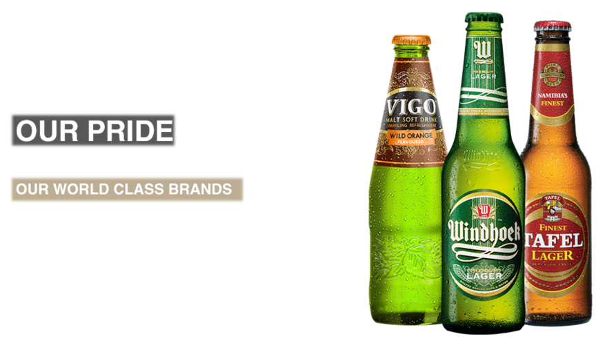 Brands by Namibia breweries Limited